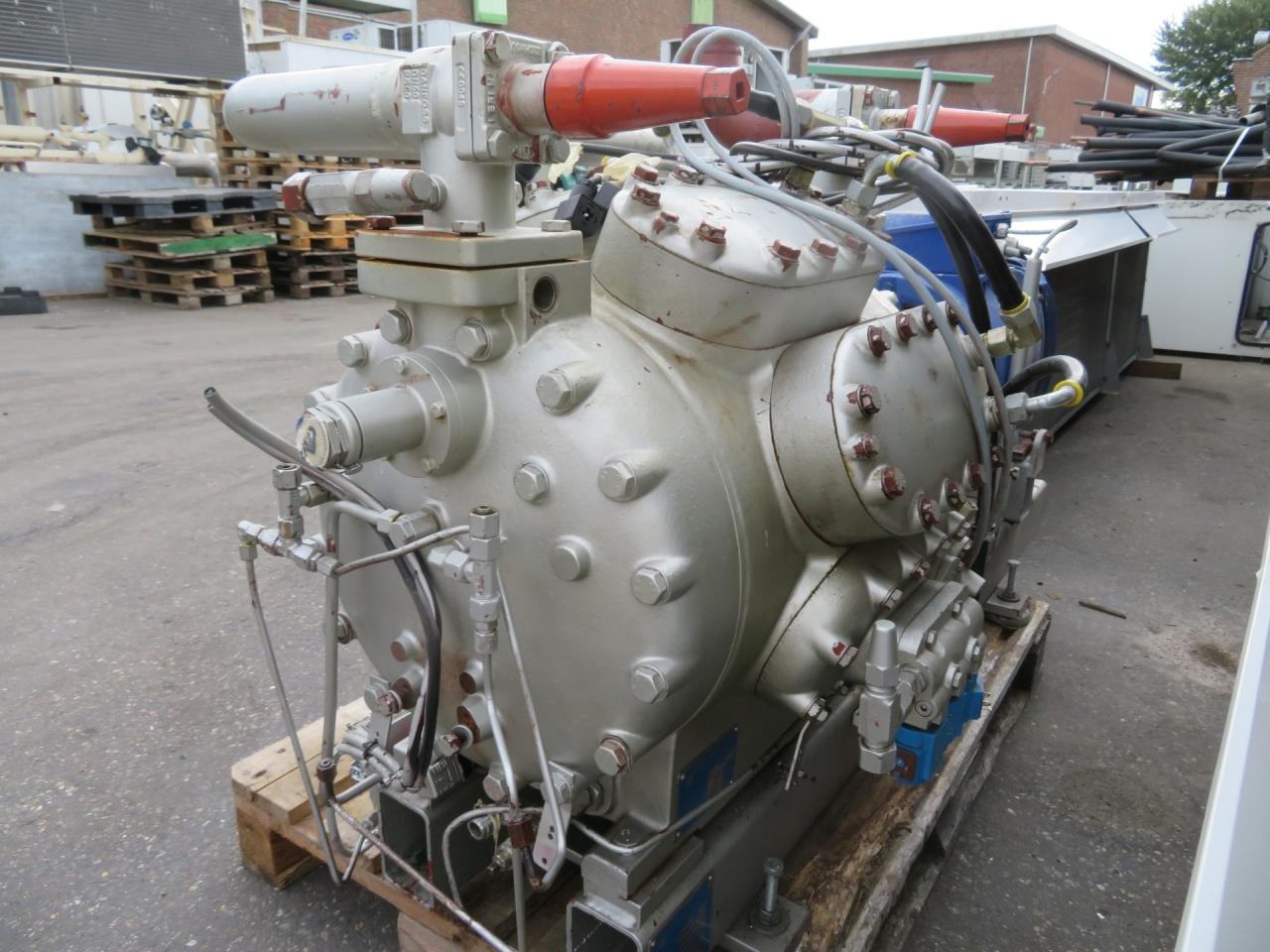 Compressor unit Sabroe CMO 28 - HOS BV - Gebruikte Koeltechniek (Used  Refrigeration Equipment)