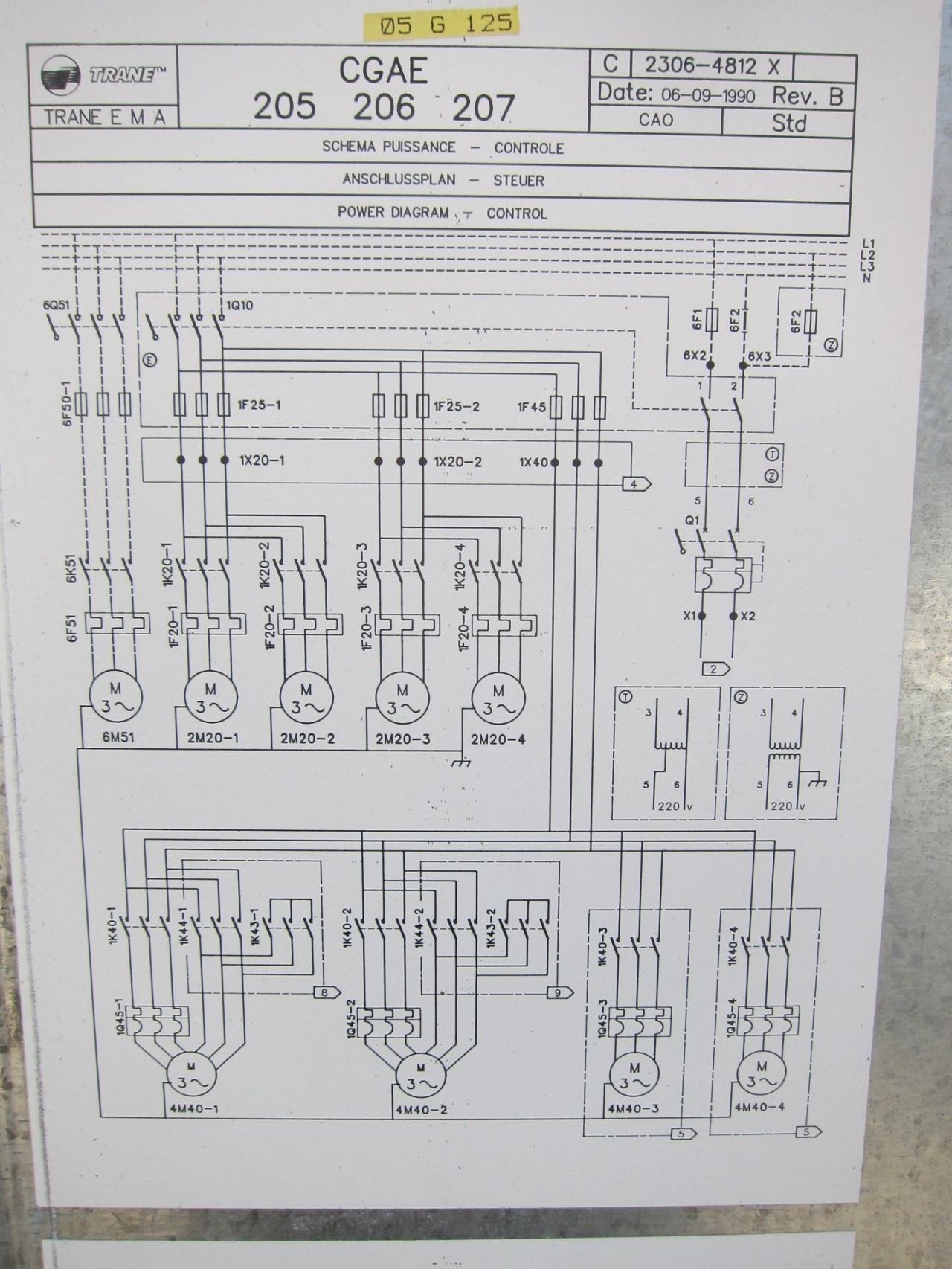 Ungewöhnlich Trane Kondensator Schaltplan Galerie - Der Schaltplan ...